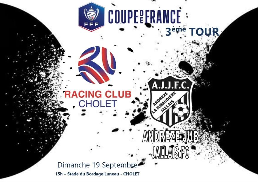 3eme tour de coupe de France